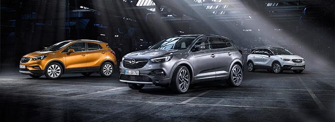 Opel X Range