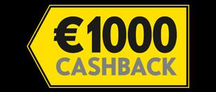 €1000 terug bij aankoop van een nieuwe Opel.
