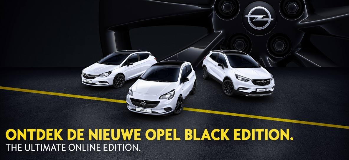 Nieuw: Opel Black Edition
