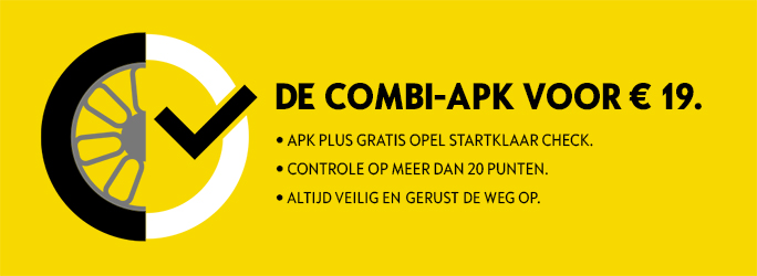Combi-APK-startklaar