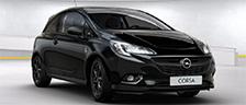 Ontdek de stoere Corsa Limited Black Edition.