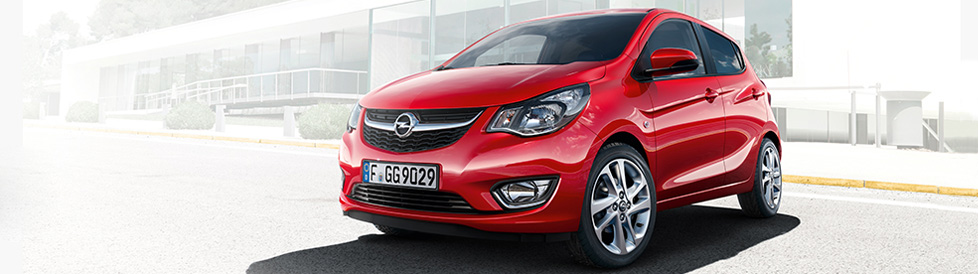 Opel KARL ... compact, krachtig en karaktervol